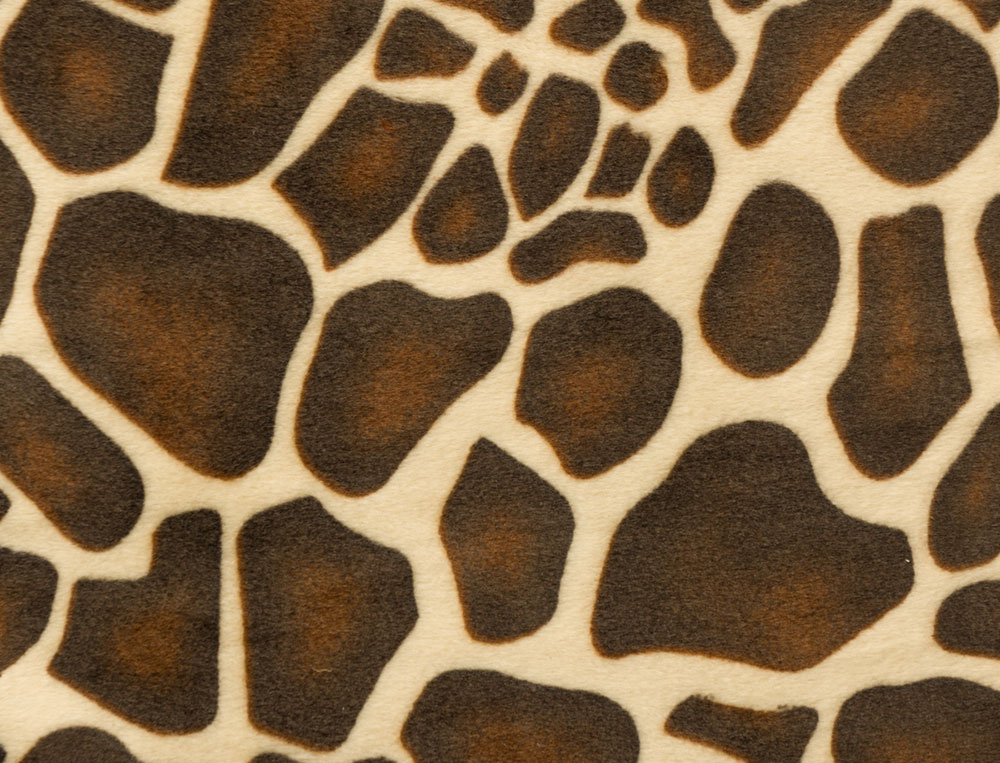 Faded animal print background