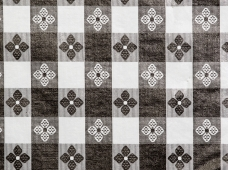 Tablecloth Tavern Check Black
