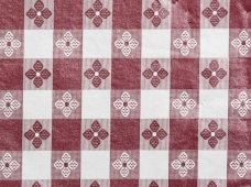 Tablecloth Tavern Check Maroon