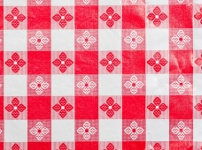 Tablecloth Tavern Check Red